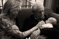 three generations of walkers.