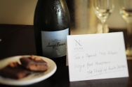 Andes Drifters left us sweet notes and goodies throughout our stays in various locations. Very special.